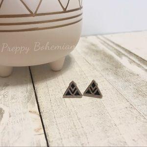 Triangle earrings